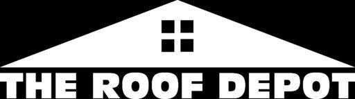 The Roof Depot Logo - Black Background