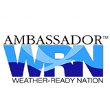 Ambassador of WRN - Weather Ready Nation Badge