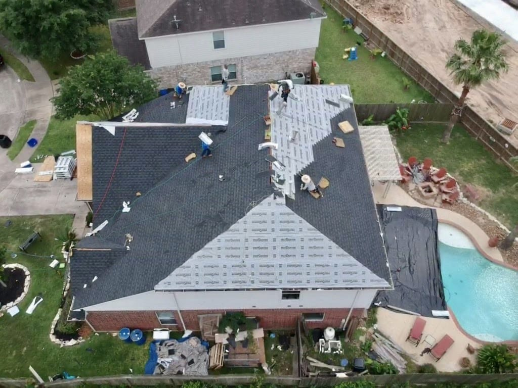 The Roof Depot provides the best roofing services in the area